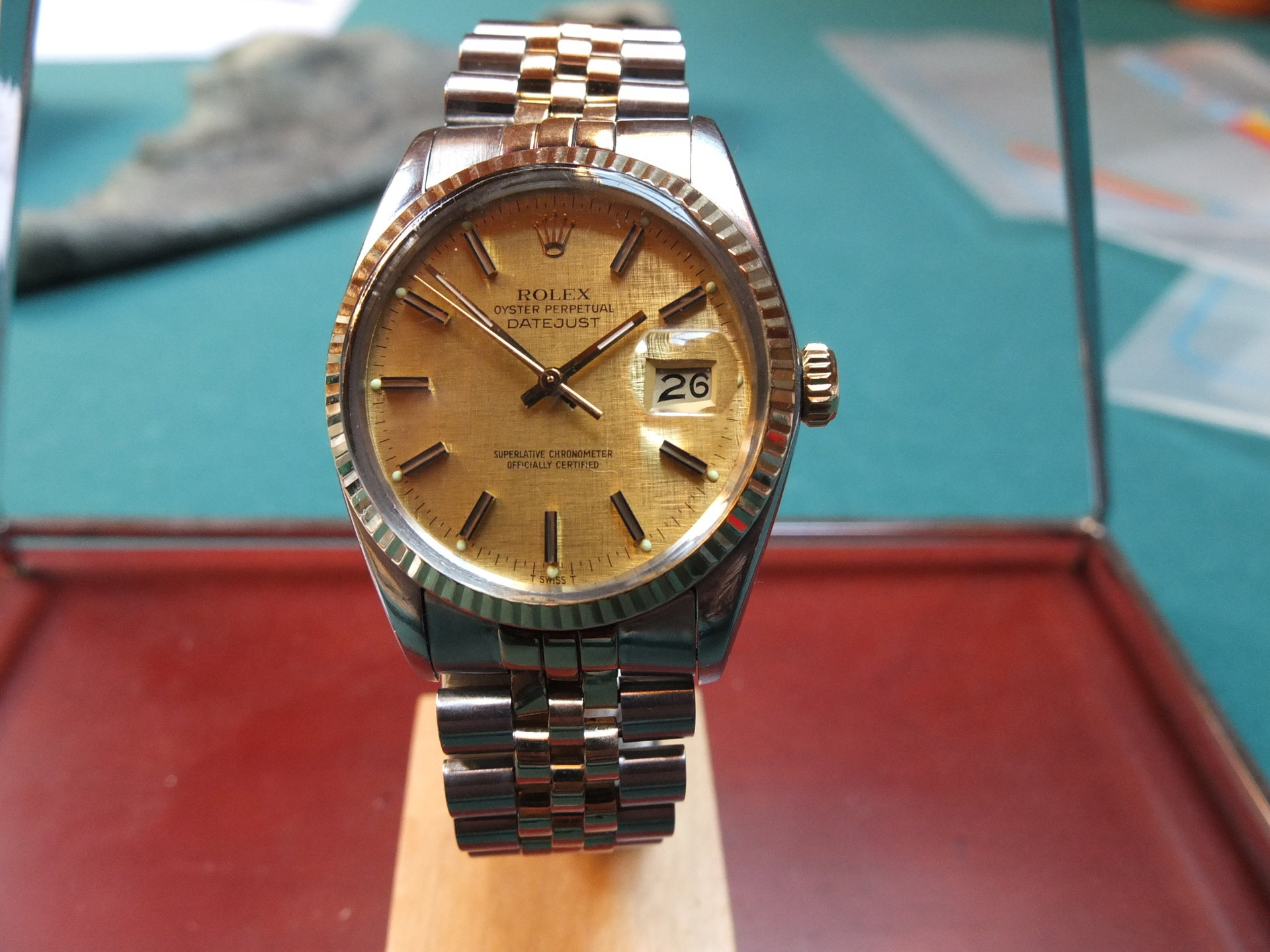 erledigt rolex datejust 36mm stahl gold uhrforum. Black Bedroom Furniture Sets. Home Design Ideas