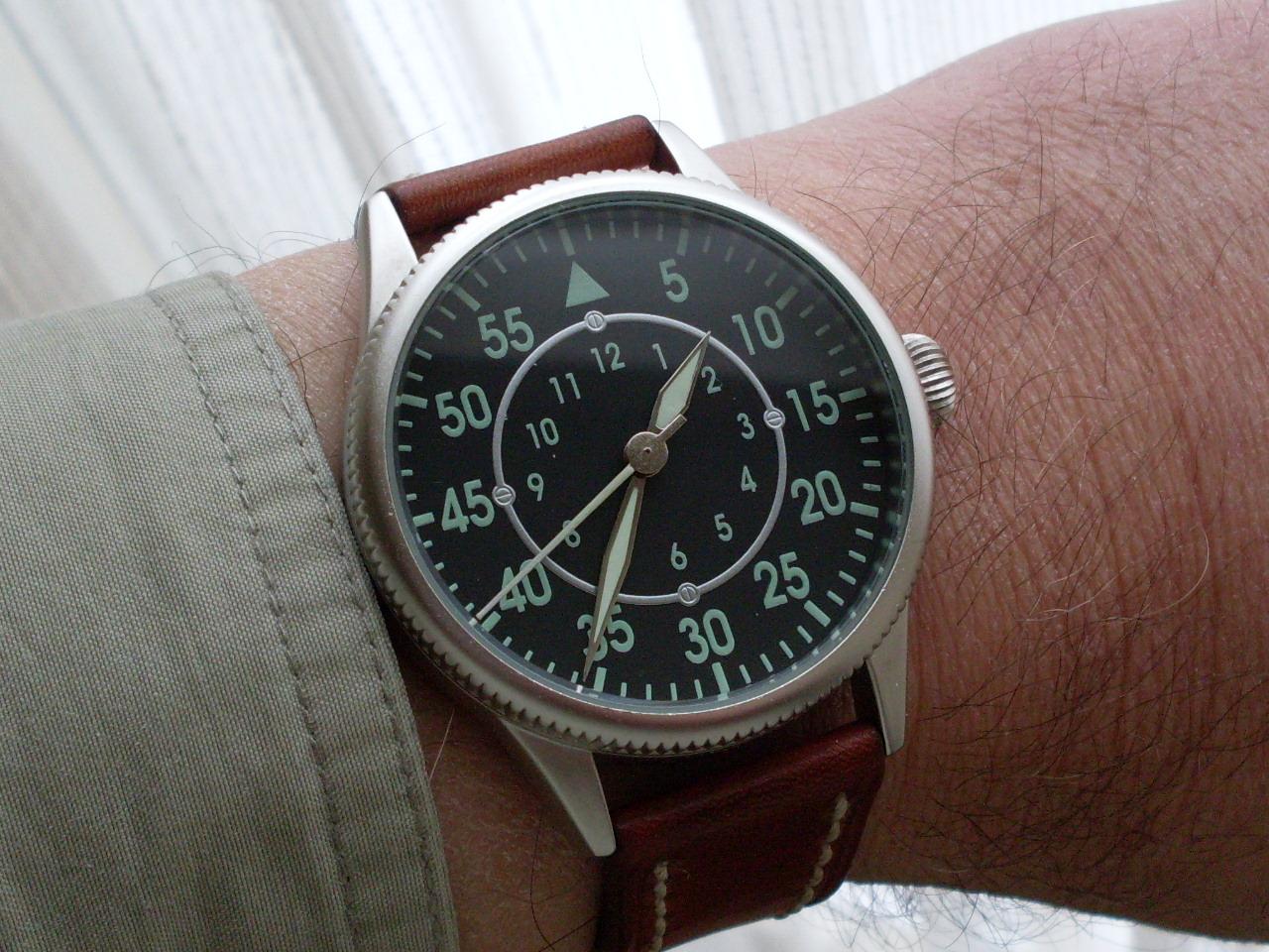 Die Billigste Fliegeruhr 45mm Der Welt Oder Wie Man Mit 4 90 Euro Eine Uhr Retten Kann Uhrforum