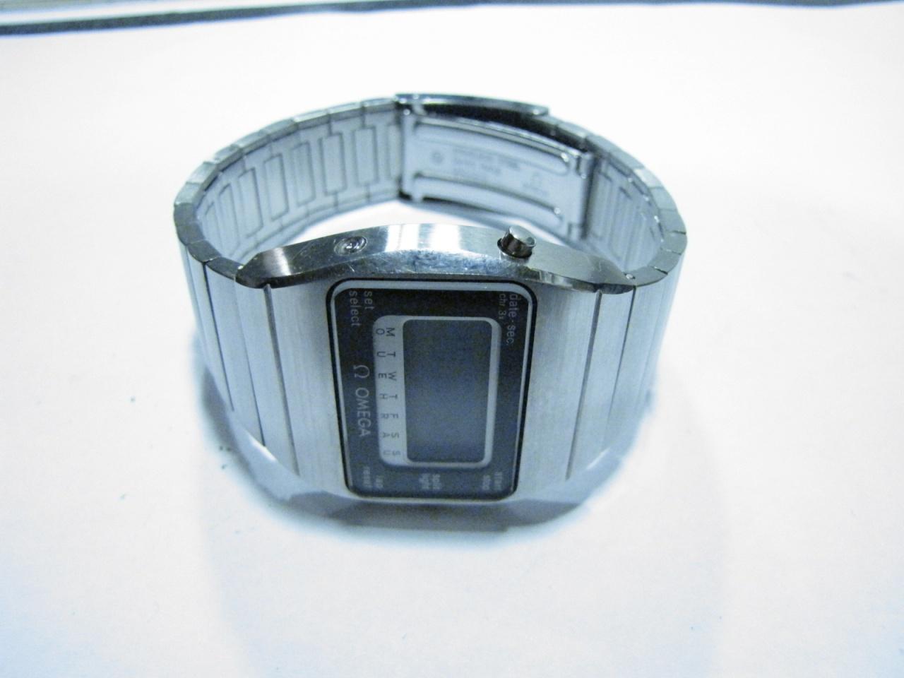 Omega Speedmaster Quartz Calibre Lcd 1620