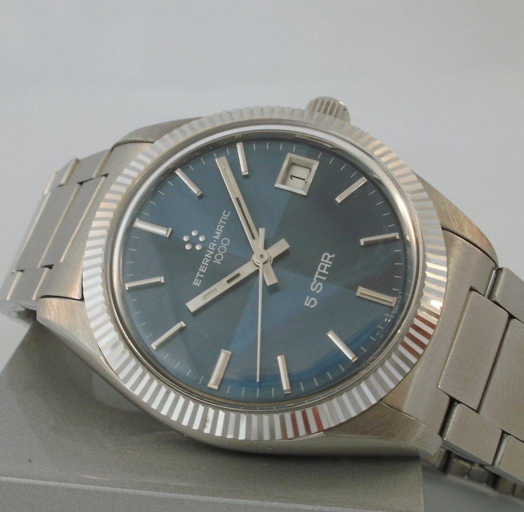 Eterna-Matic 1000 5 Star Watch antique appraisal | InstAppraisal