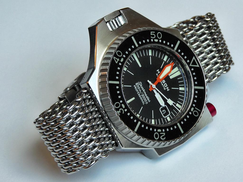 Rolex Explorer Kaufen >> Helson Sharkmaster 600 - black in black - UhrForum