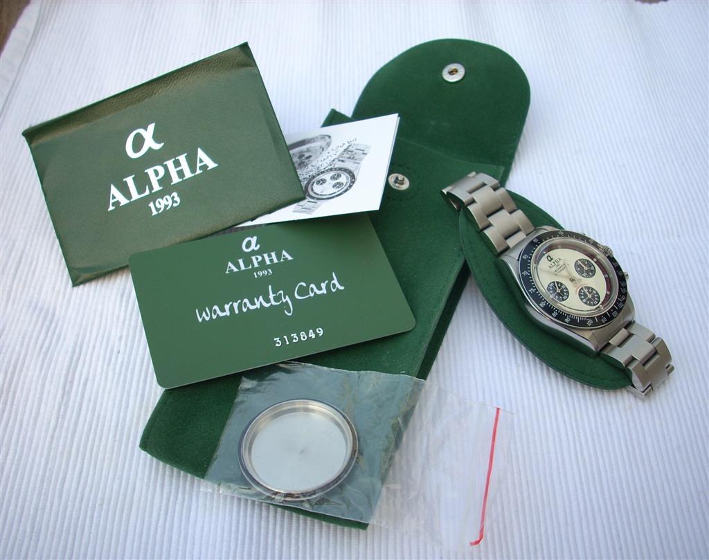 erledigt alpha schaltrad chronograph 831 sg2903 paul newman ivory dial glasboden uhrforum. Black Bedroom Furniture Sets. Home Design Ideas