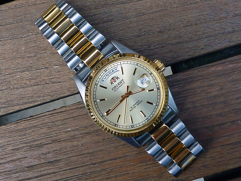 Orient Rolex day date style