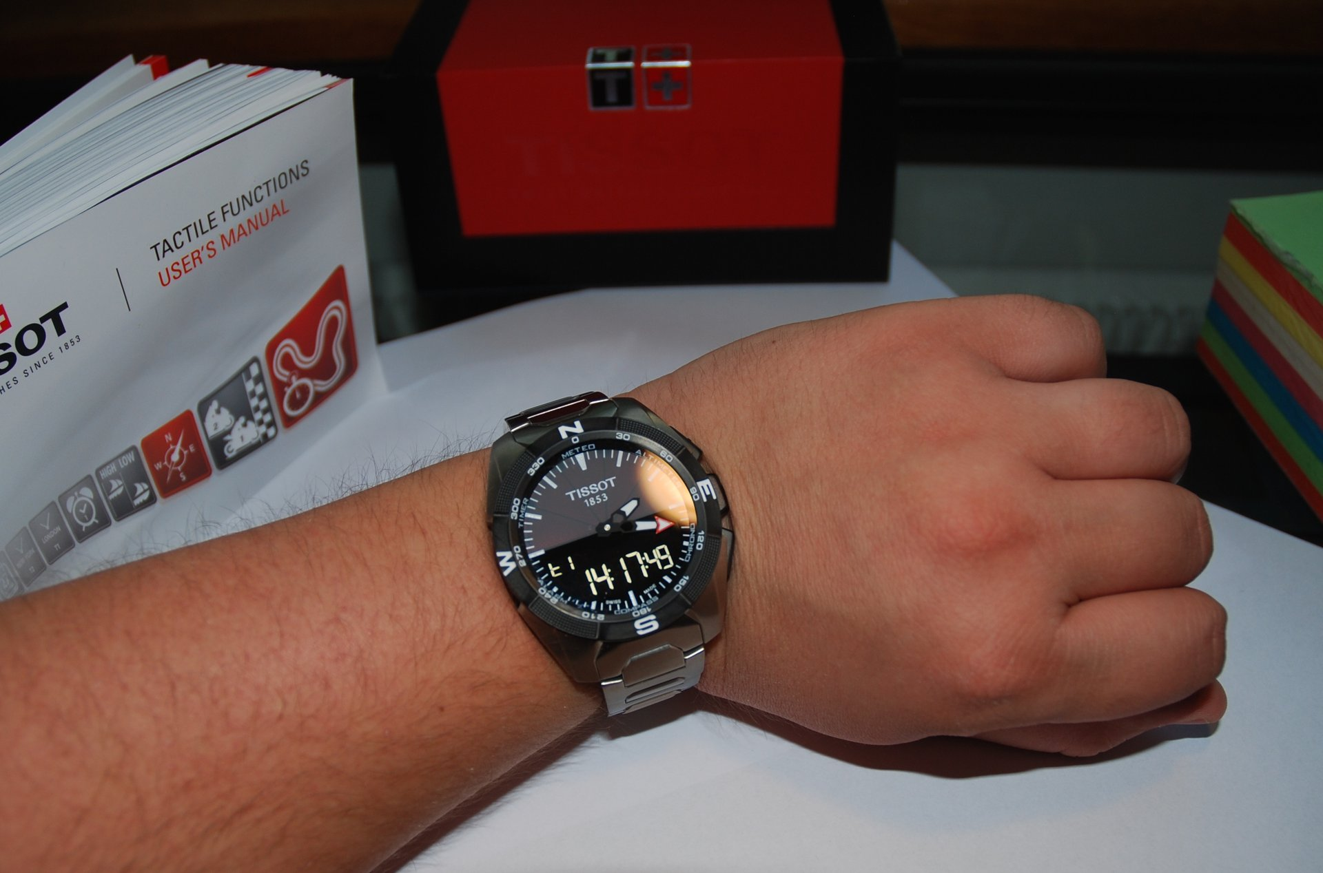 Tissot T Touch Expert Solar Titan Ref T091 420 44 081 00
