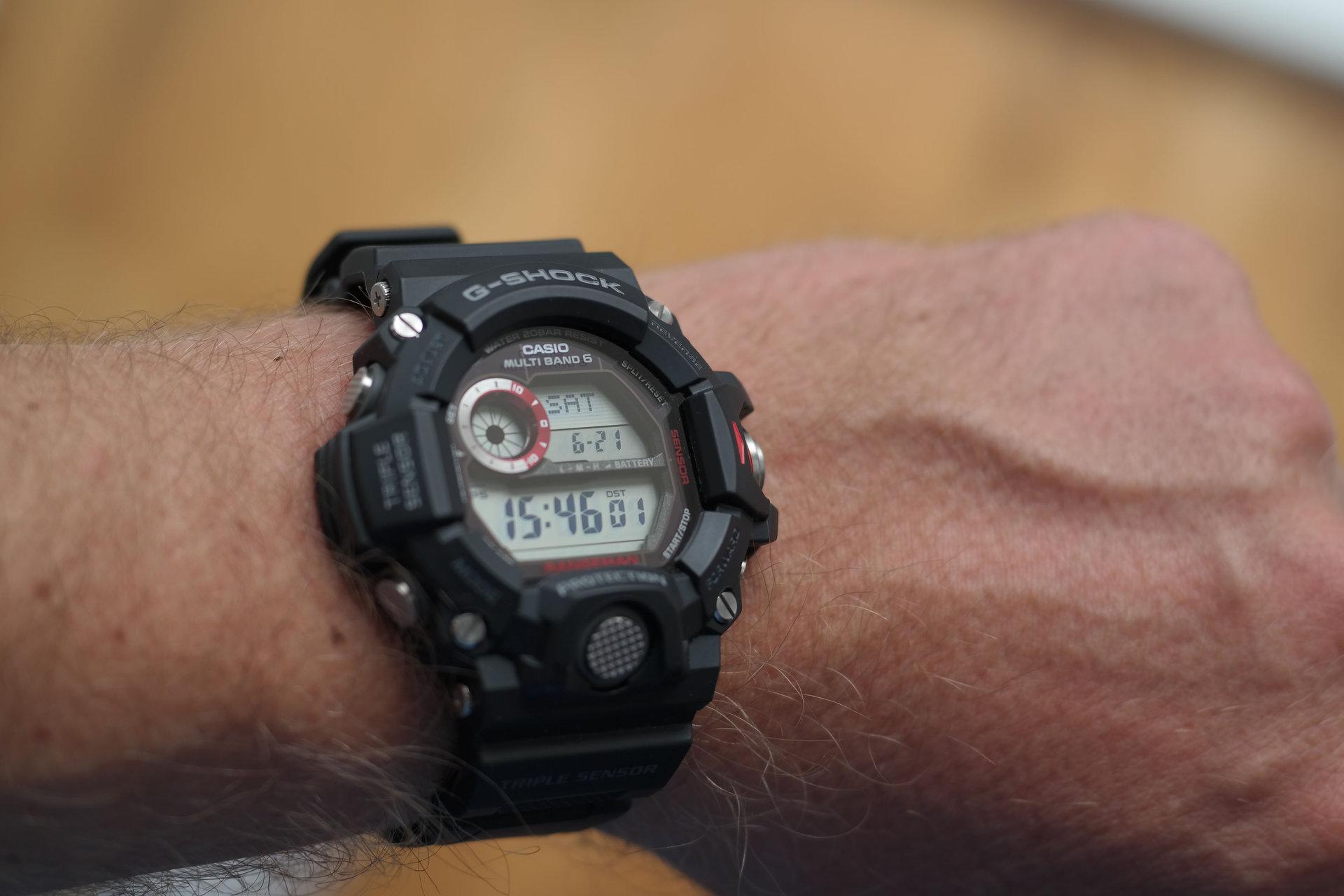 [Erledigt] Casio G-Shock GW-9400-1ER Rangeman - UhrForum
