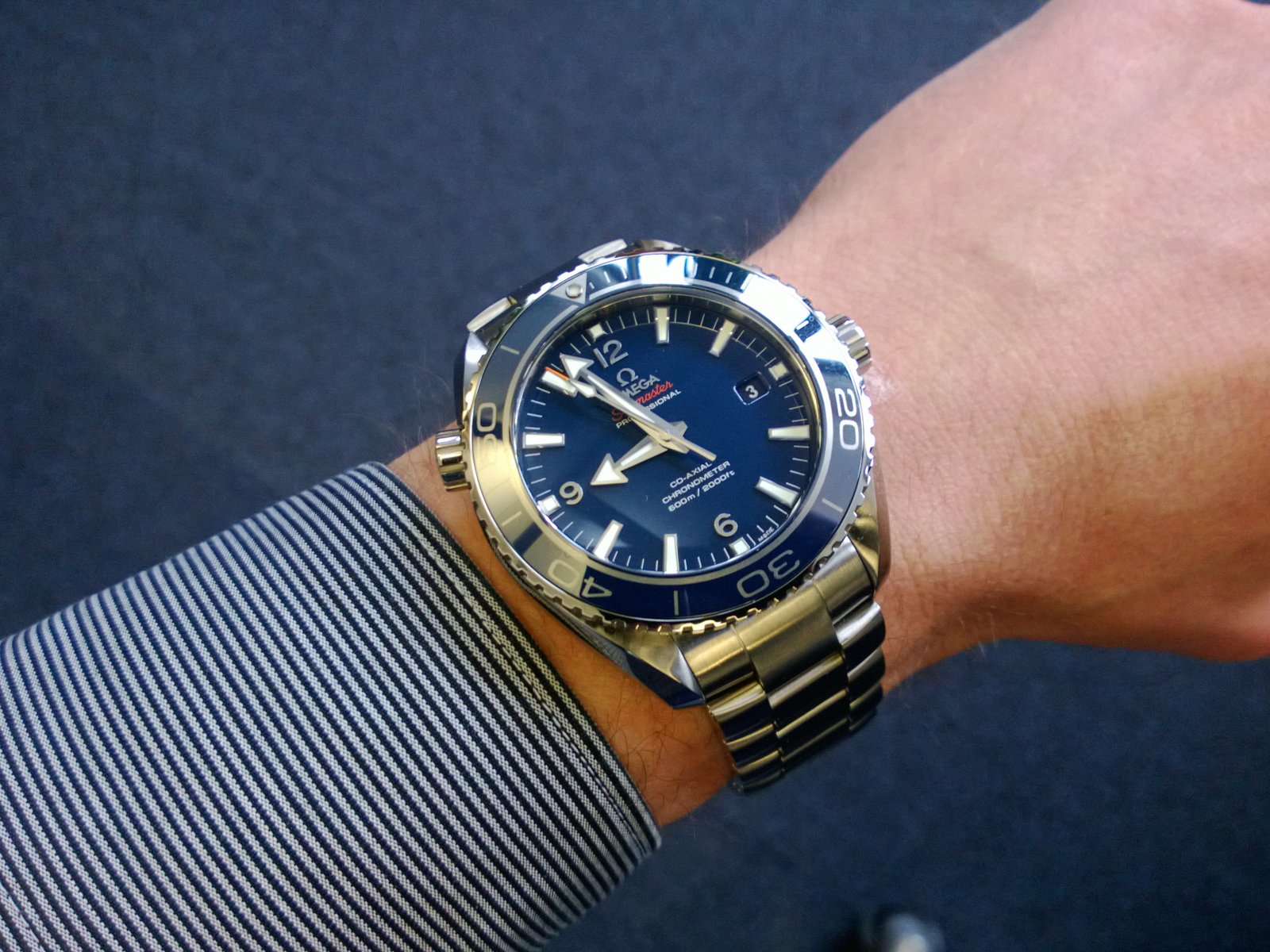 Omega Planet Ocean Titanium 42mm Review