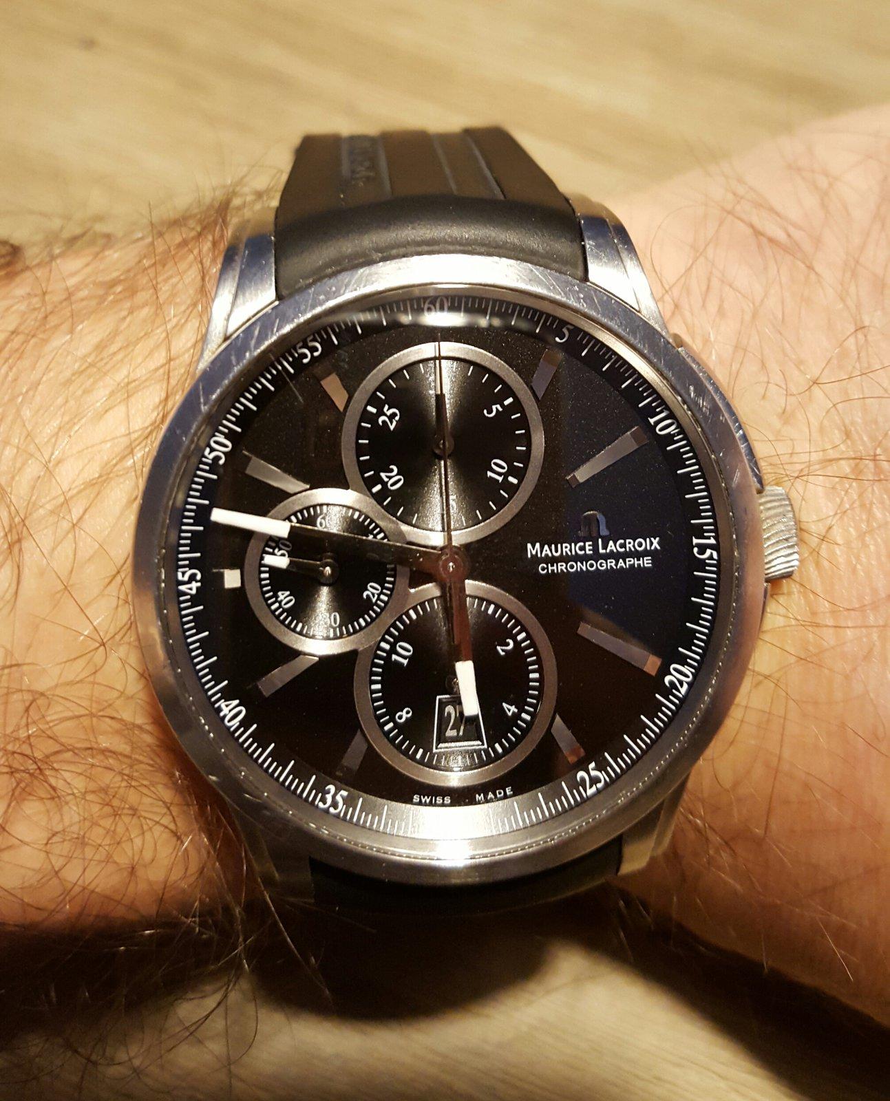 Pontos 330 1 Maurice Ss001 Chronograph Lacroix Pt6188 Nmwn80
