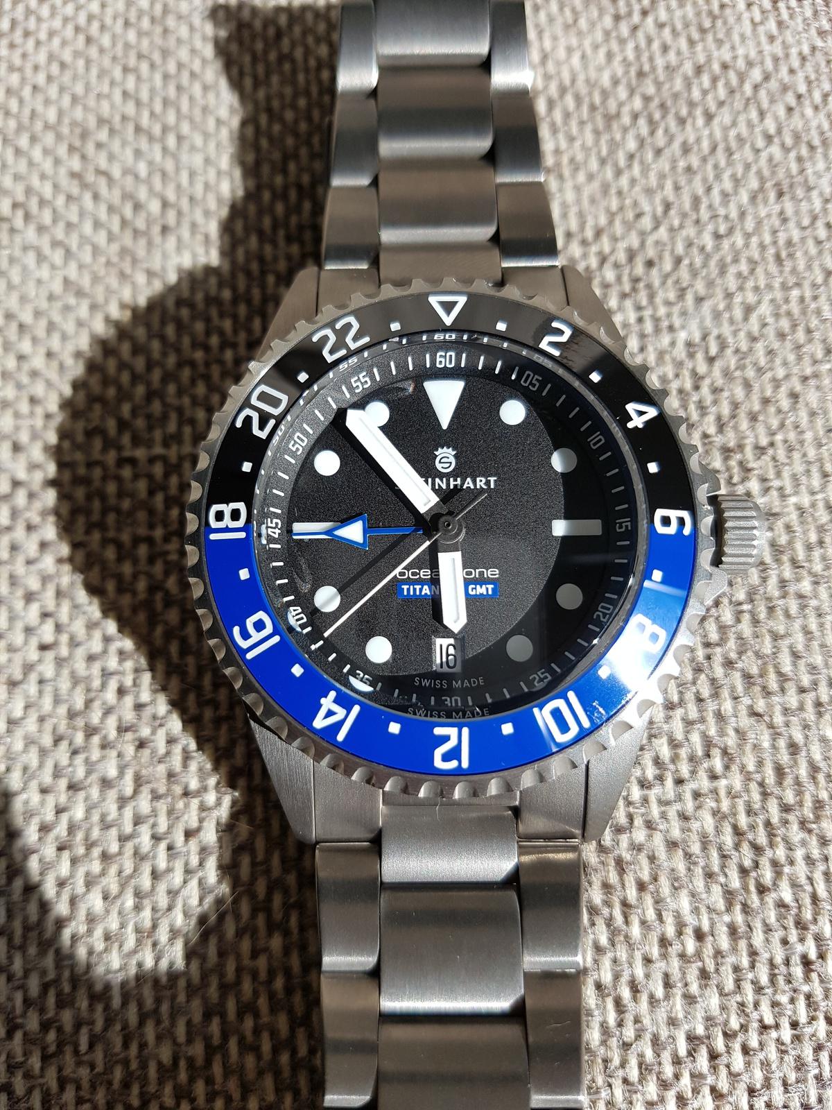 Steinhart Ocean Titanium 500 Gmt Die Kurzschluss Uhr