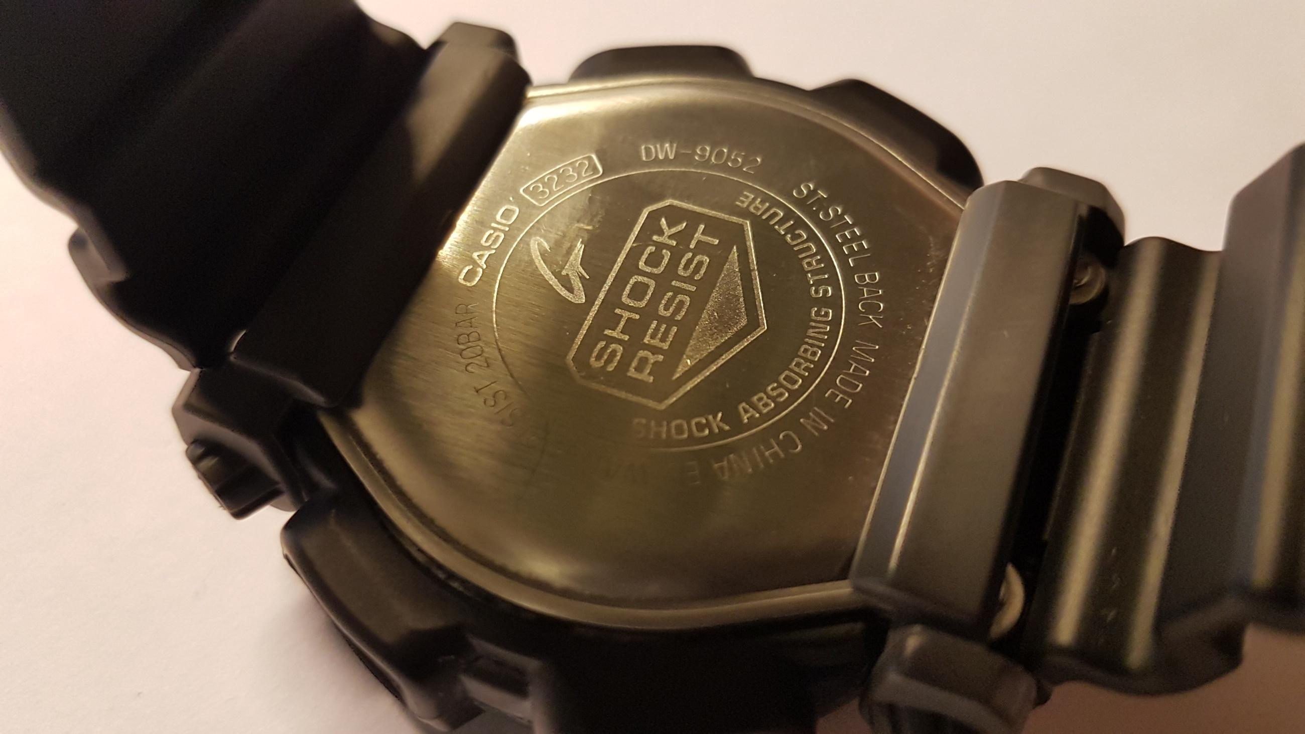 Erledigt Casio G Shock Dw 9052 2v 24