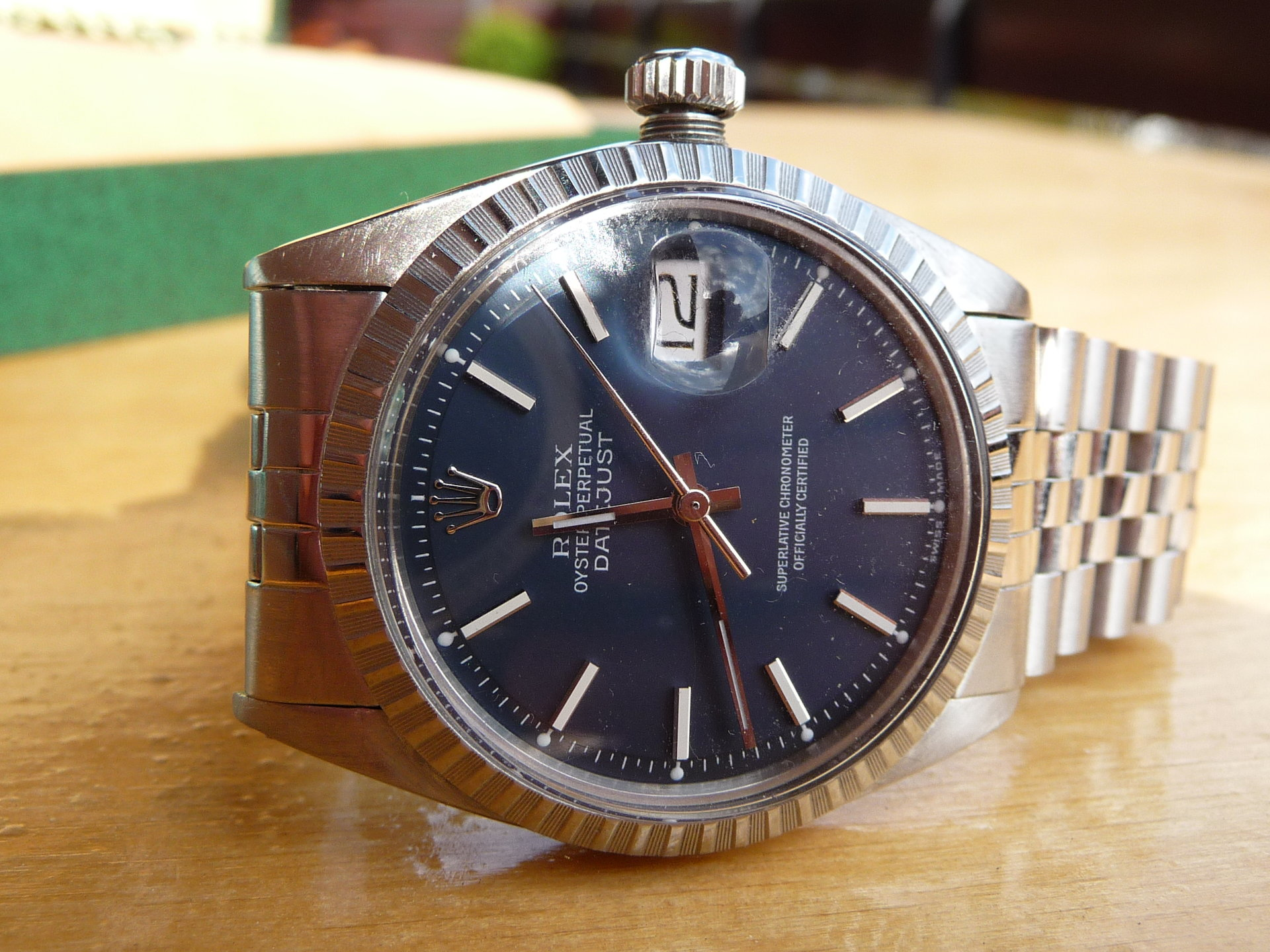 reserviert rolex datejust 1603 aus 1971 blaues blatt uhrforum. Black Bedroom Furniture Sets. Home Design Ideas