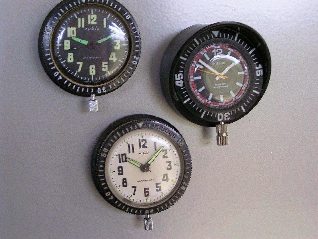 Kühlschrank Uhr Magnetisch : Flohmarktbeute prim und ruhla