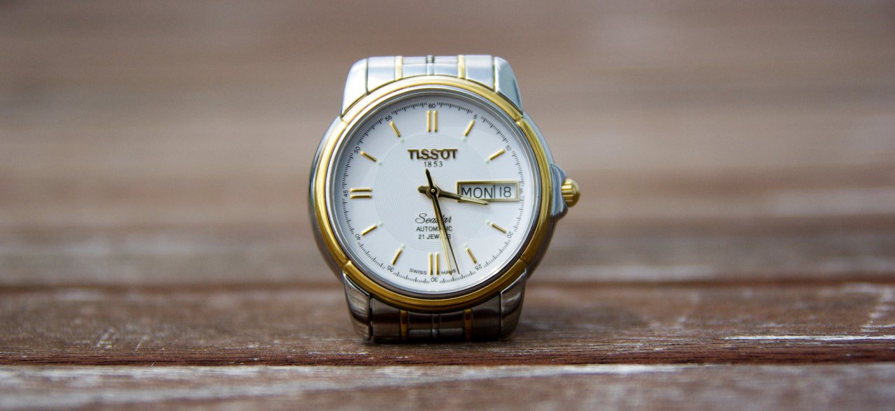 Часы tissot automatic 21 jewels