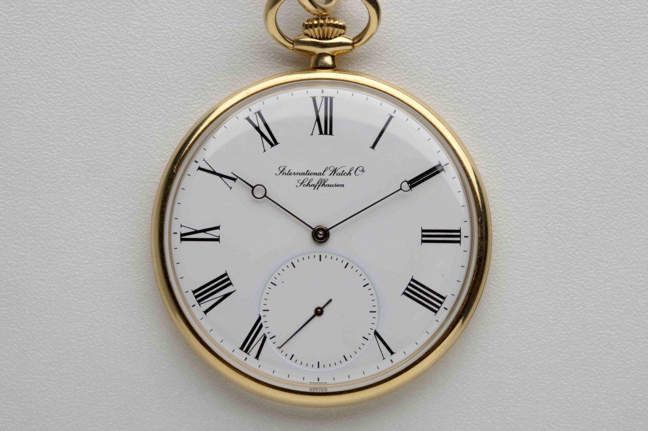 Taschenuhr  IWC Taschenuhr 18 K Gold - UhrForum