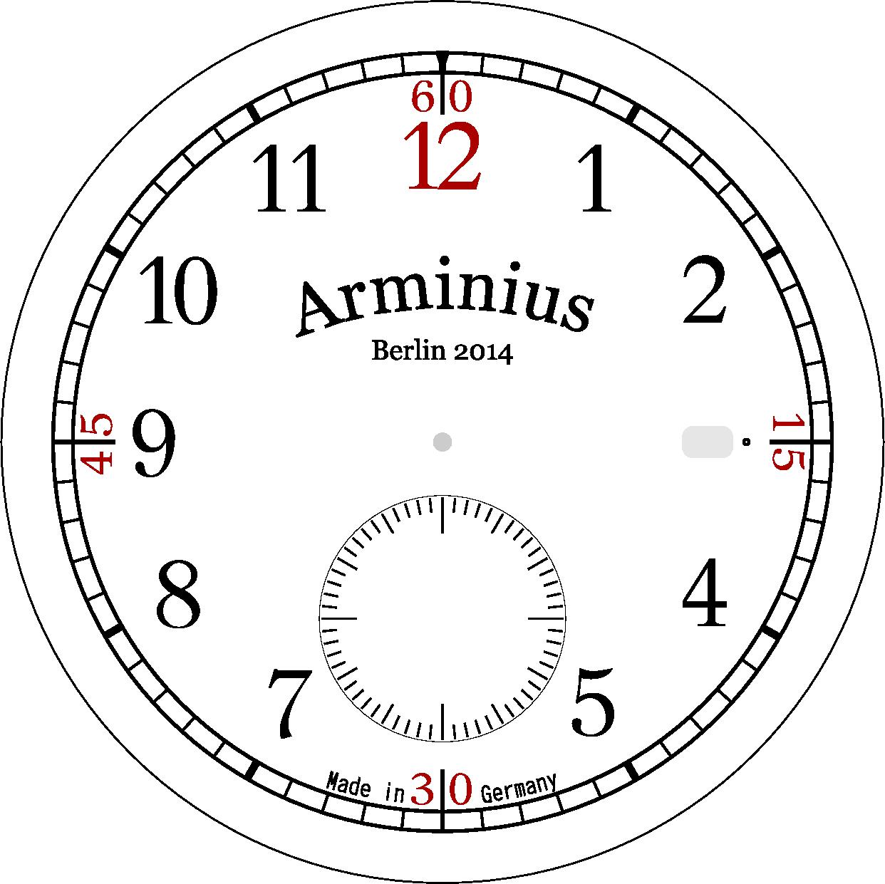 Grafikprogramm Für Zifferblattentwurf Gesucht