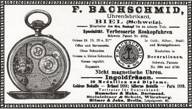 Bachschmid.Inserat.1890.Watchwiki.jpg