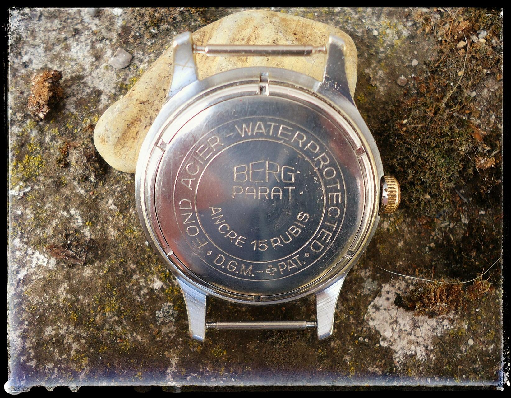 Berg Parat, die Uhr mit den Rolex-Zahlen - UhrForum