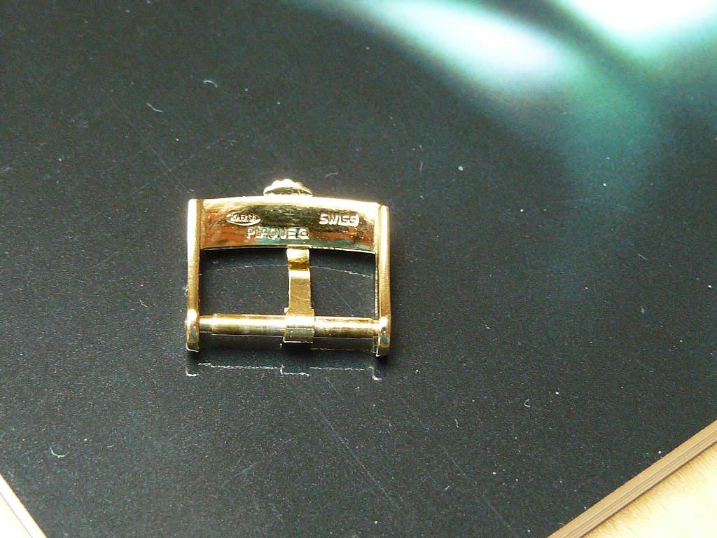 Erledigt Vergoldete Original Rolex Stiftschliesse Inkl