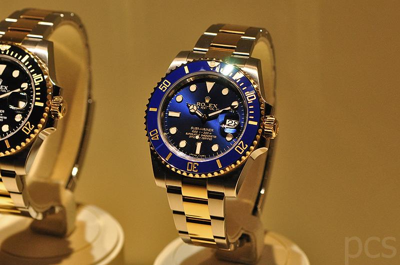 Rolex Submariner Gold Schwarz