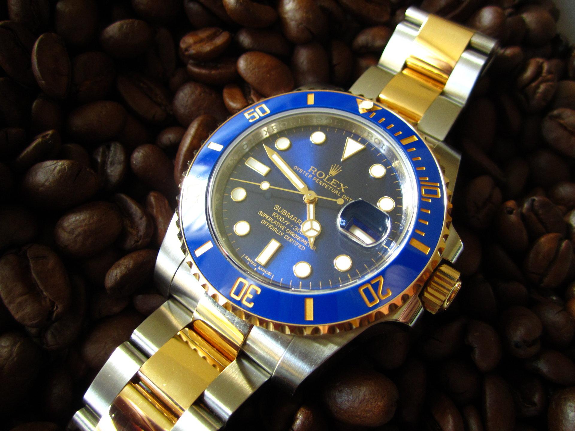 Rolex Submariner Blau
