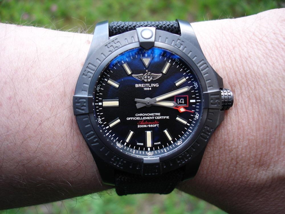 Breitling Avenger Blackbird 44 Uhrforum