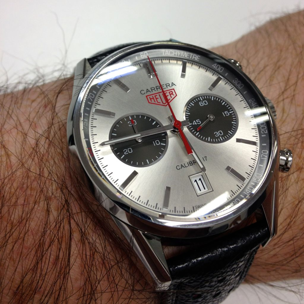 Hands-on review: carrera jack heuer 80 edition | the home of tag.