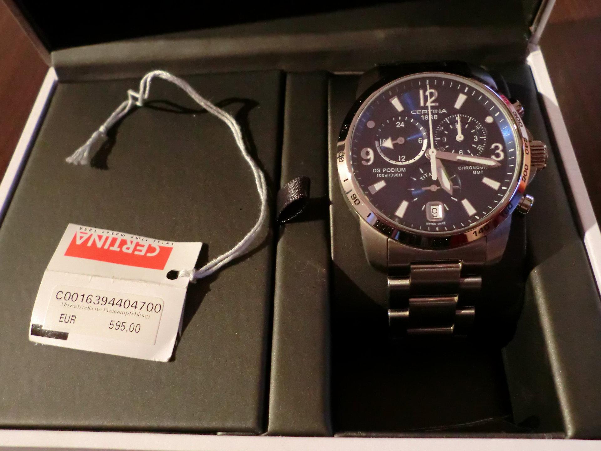 Купить часы Certina, каталог и цены на наручные часы Certina