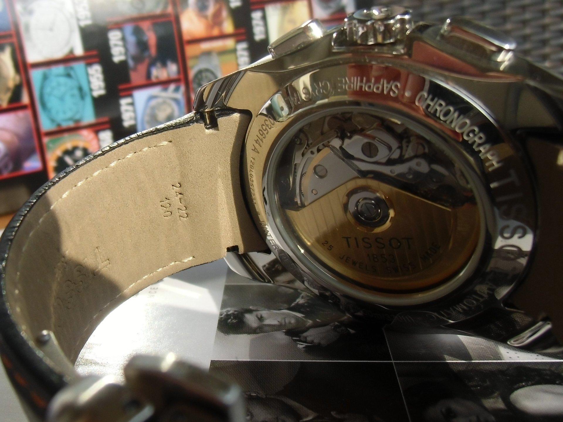 erledigt tissot couturier automatic chronograph valjoux. Black Bedroom Furniture Sets. Home Design Ideas