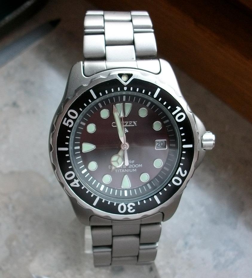 Citizen ap0401 bezel insert seiko citizen watch forum japanese watch reviews discussion - Citizen titanium dive watch ...