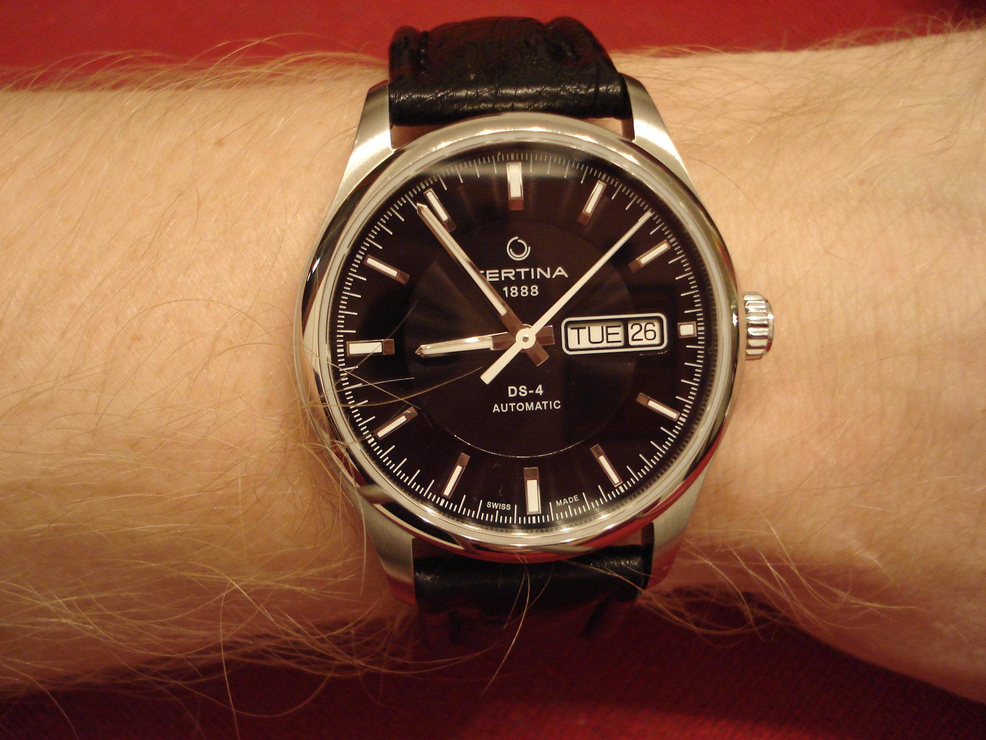 Швейцарские часы certina хороши