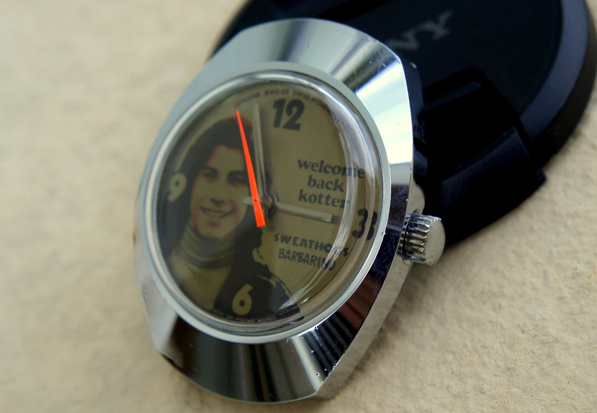 Vintage MICKEY MOUSE Constructa Watch Ltd. Swiss Made ...