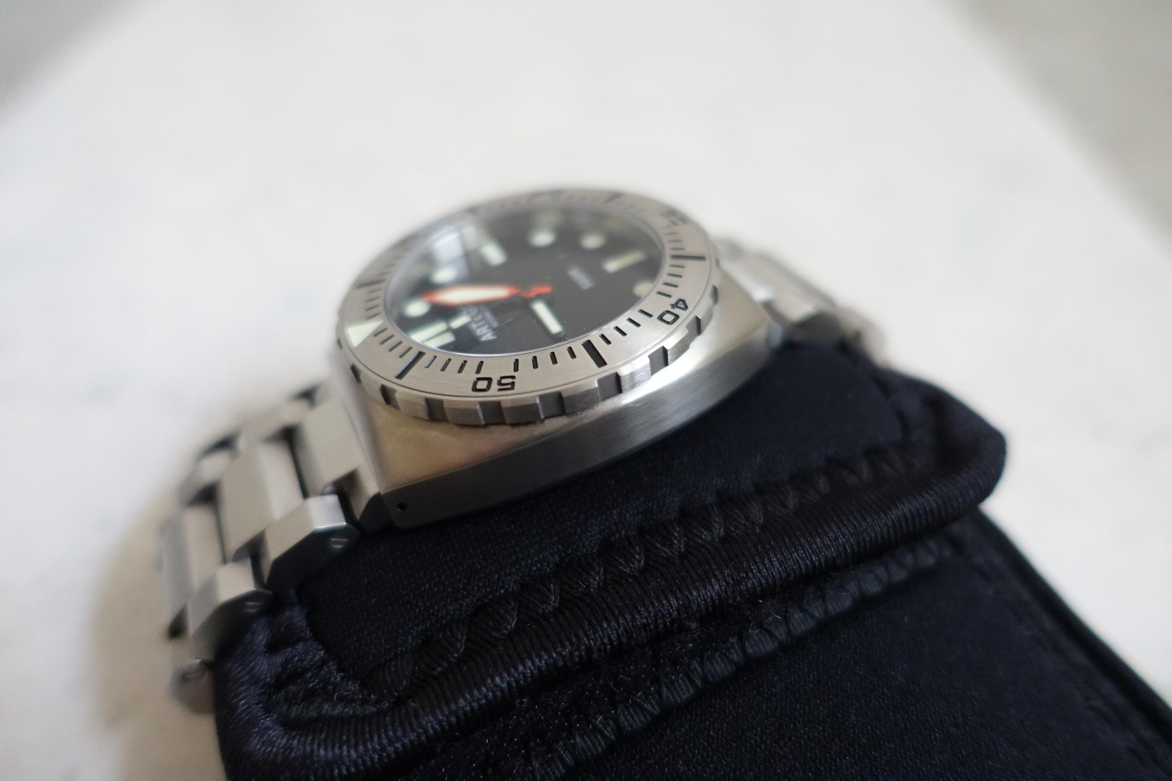 ARTEGO 500 Watch Uhr Diver 500M Limited Edition 73 extrem