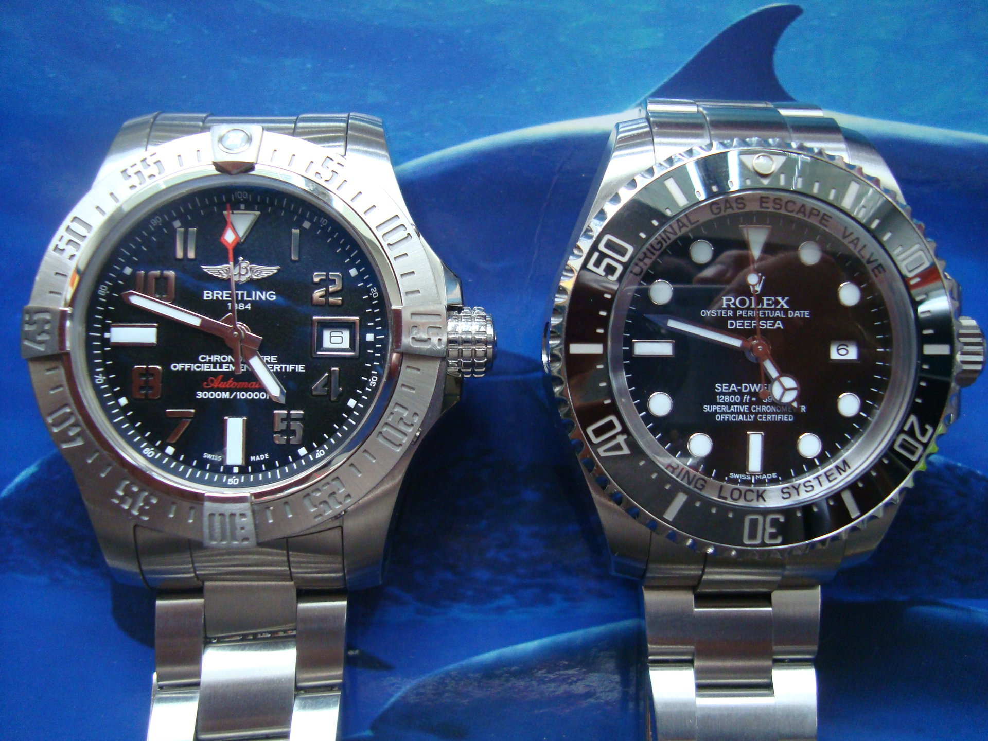 Breitling Superocean Vs Rolex Submariner
