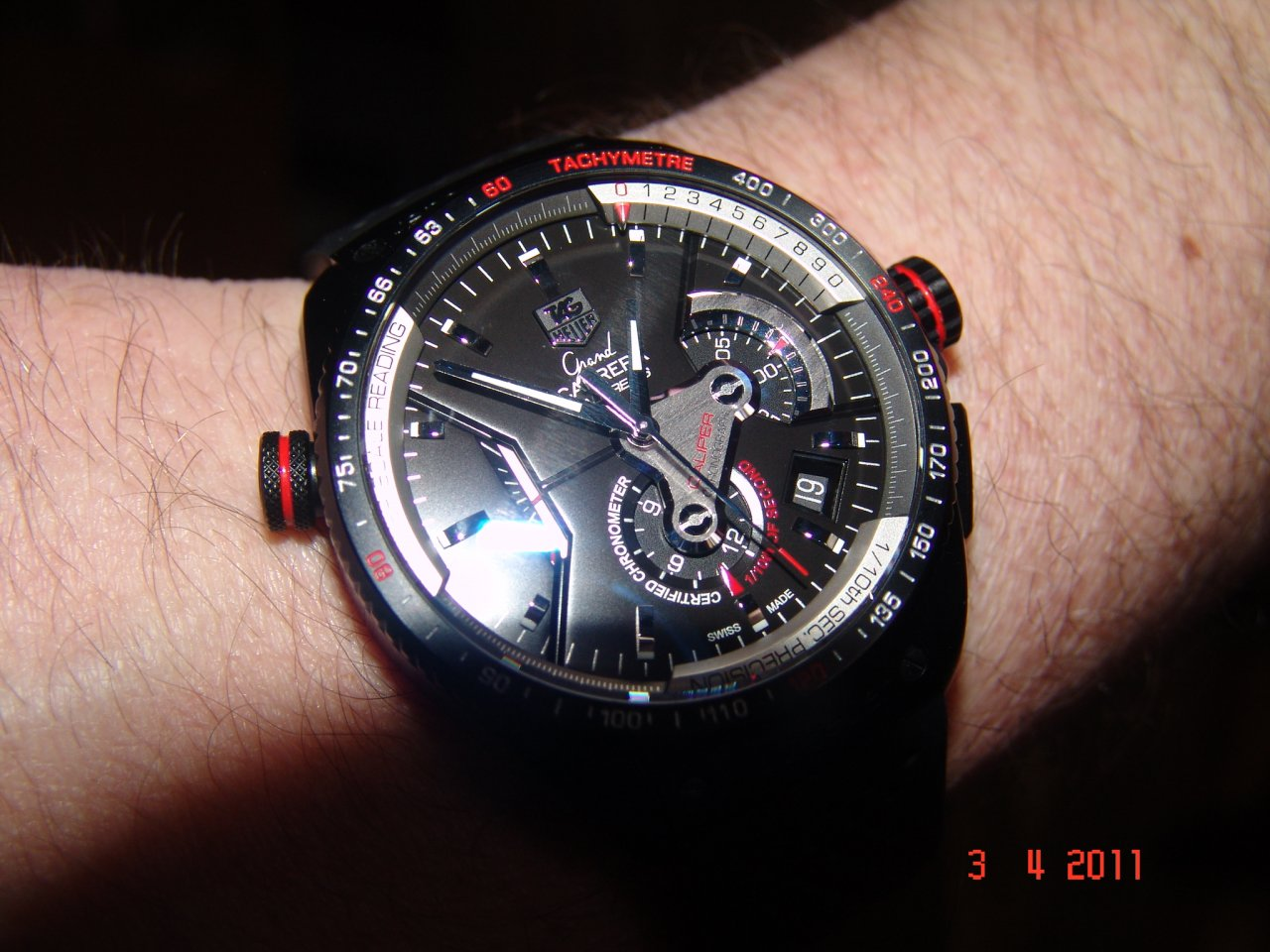 To Do Tag: Tag Heuer Grand Carrera Calibre 36 RS