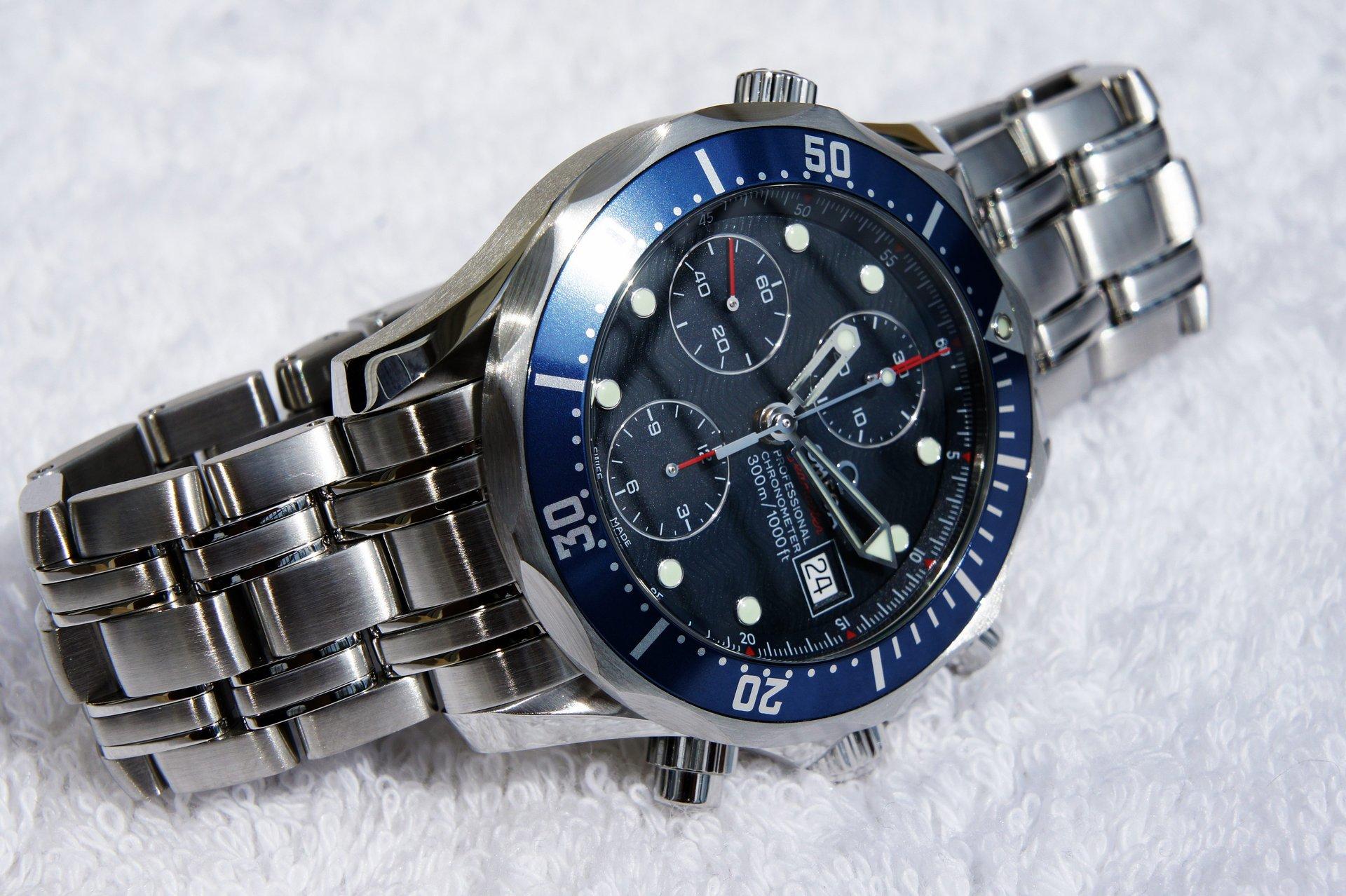Erledigt omega seamaster diver 300 m chronograph 41 5 mm ref aus 10 2012 uhrforum for Omega diver