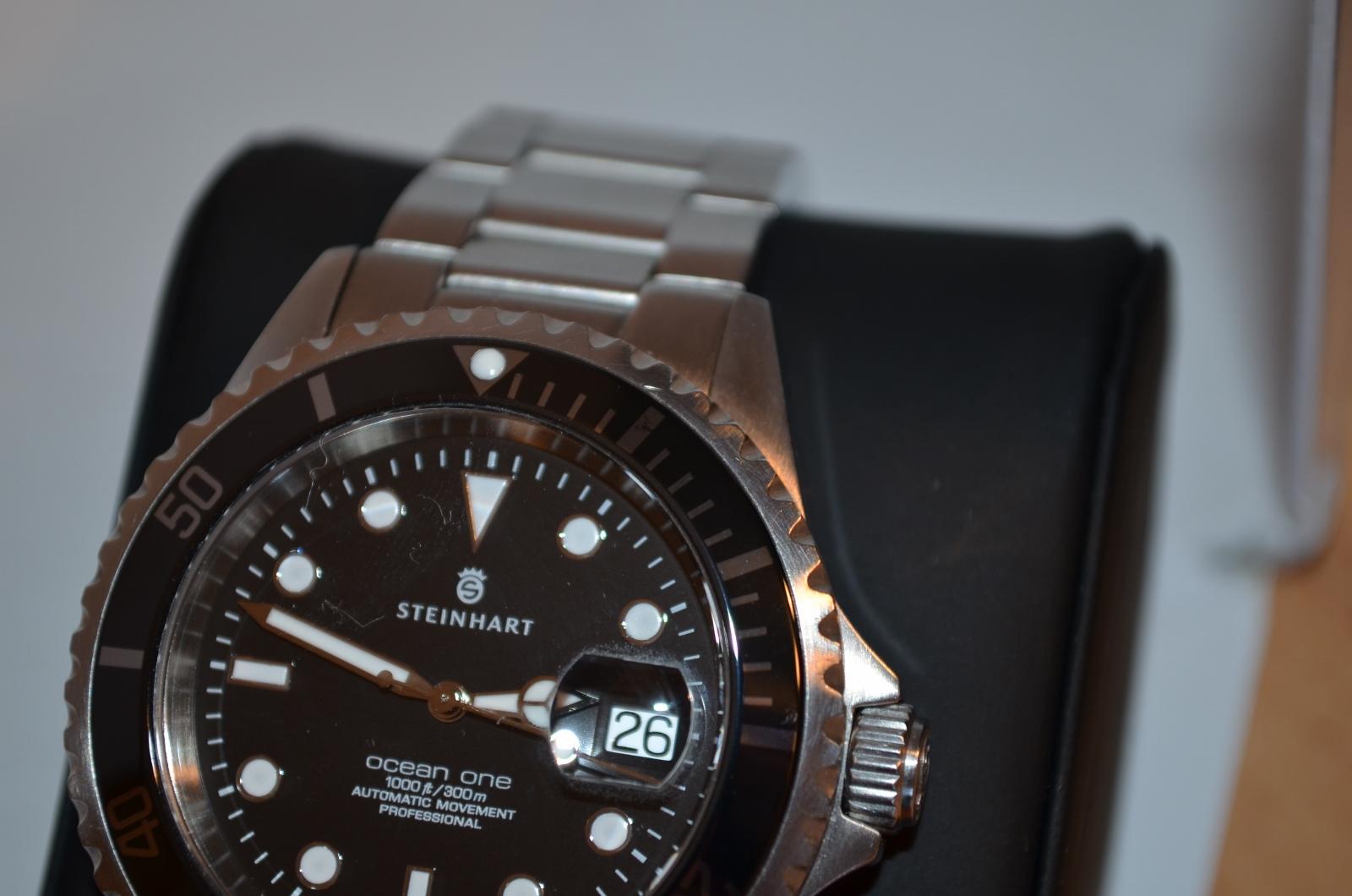 Erledigt Steinhart Ocean One Black Ceramic Uhrforum