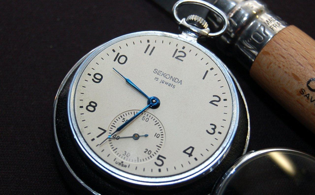 Moderne taschenuhr  Taschenuhr Sekonda 15 Jewels Cal. 3602 (1966) - UhrForum