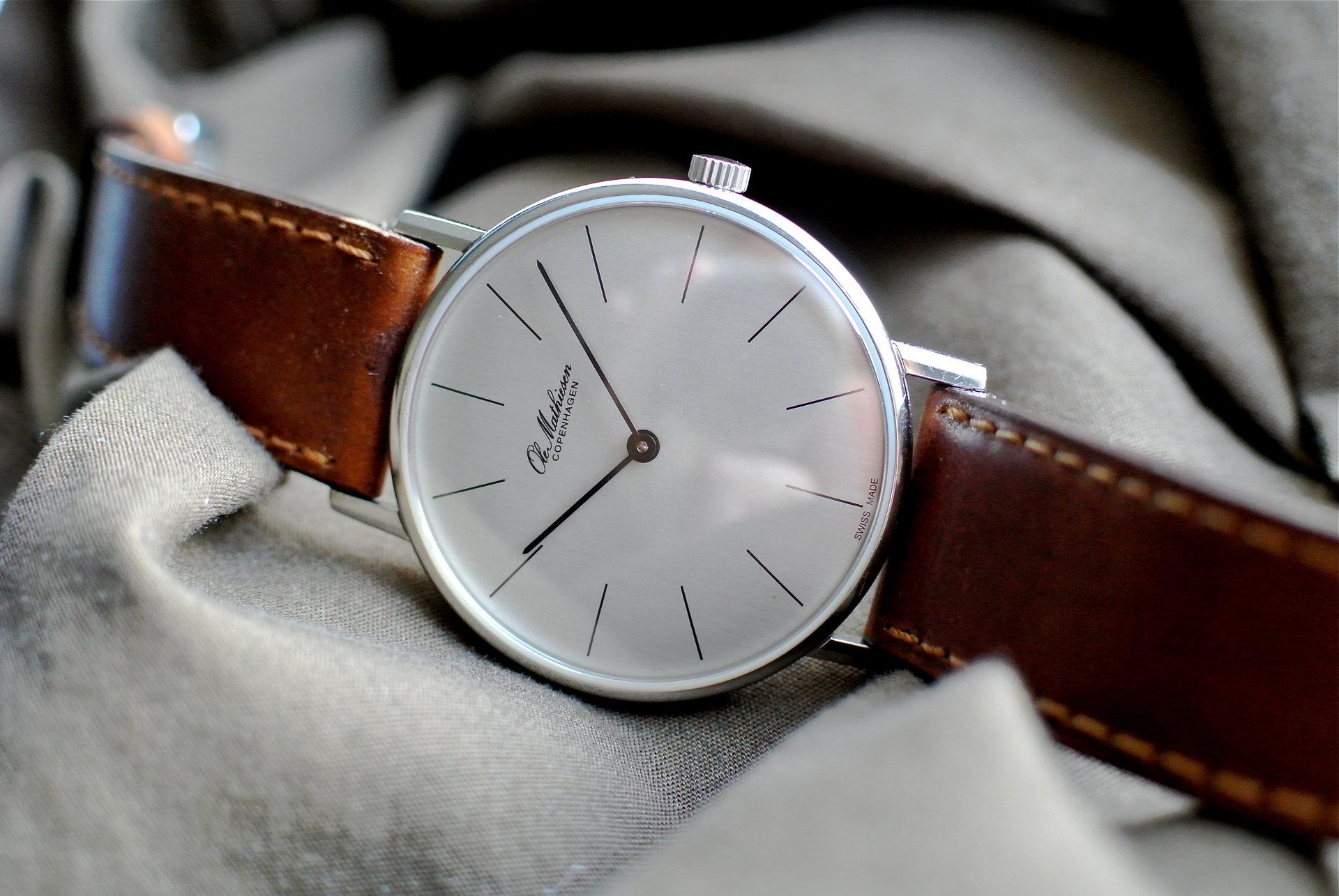 [Erledigt] Ole Mathiesen OM8 -Handaufzug- - UhrForum
