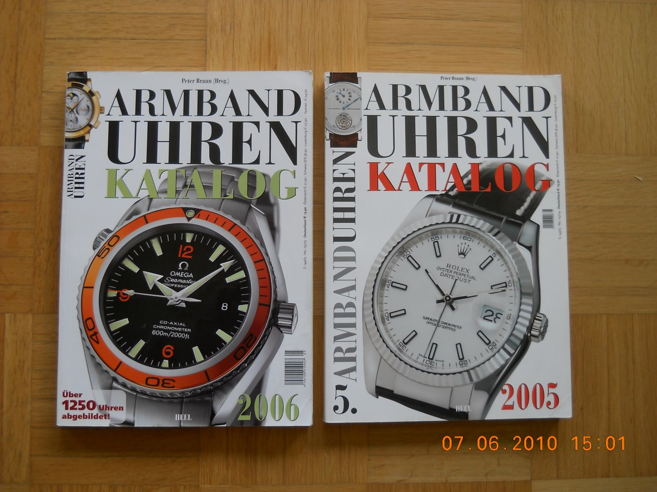Verkauf] Armbanduhren Kataloge Peter Braun - UhrForum