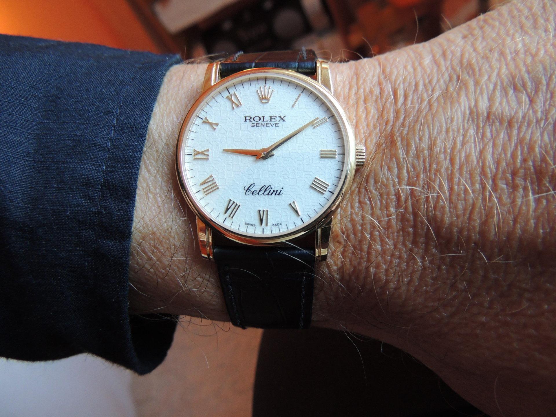 Rolex Cellini Classic 5116