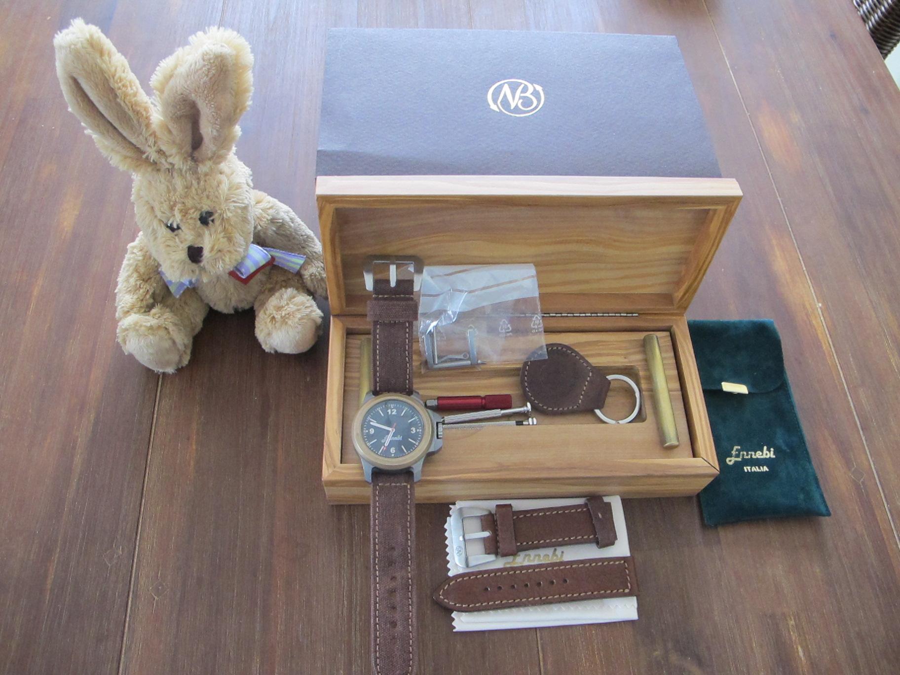 Erledigt] ENNEBI FONDALE 9660-100 mit Bronze Lünette - UhrForum