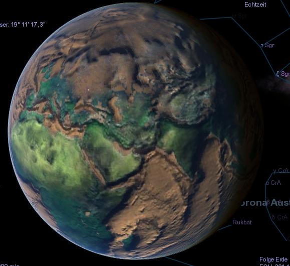 Erde Ohne Wasser