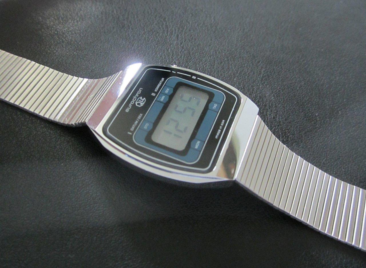 Alte Berufe Armbanduhren Zifferblatt Perfekte Verarbeitung Ruhla Eurochron Uhrmacher