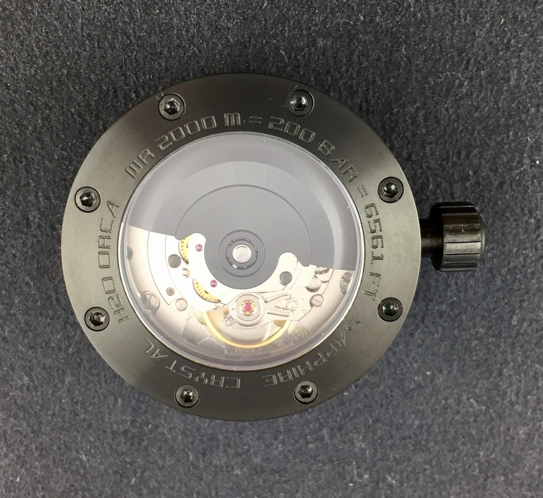 Erledigt] H2O Orca DLC Innengehäuse mit ETA 2824 Rotor DLC sehr ...