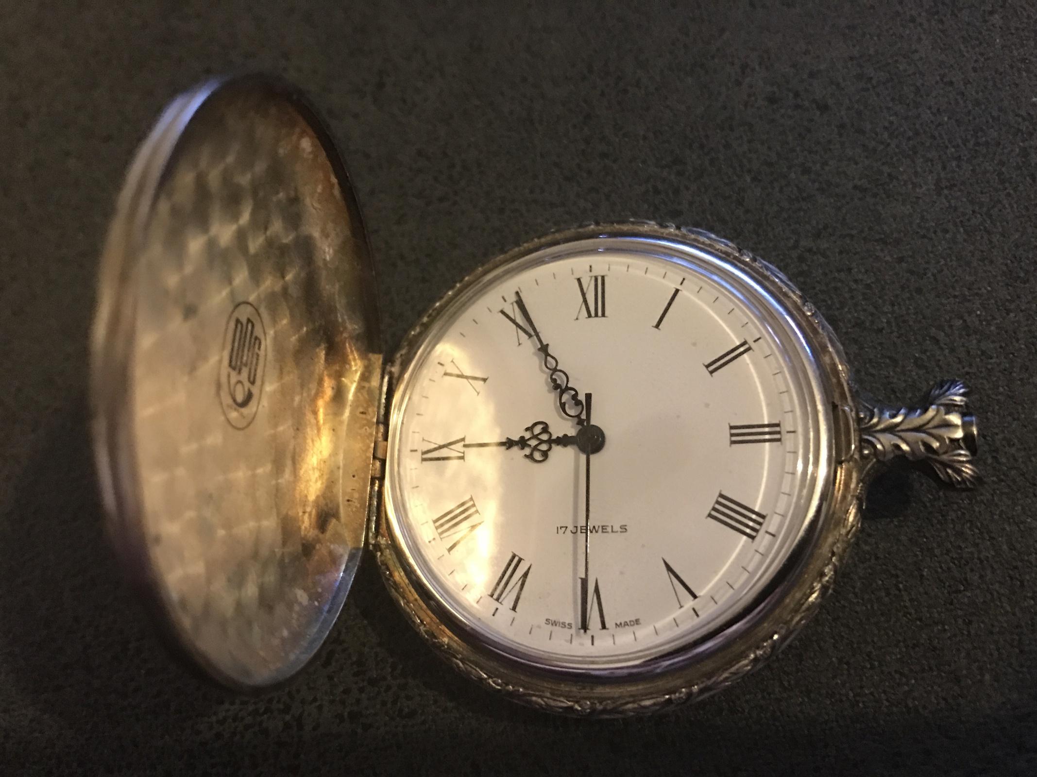 Taschenuhren modern  Uhrenbestimmung - defekte Taschenuhr von Großvater gefunden - UhrForum