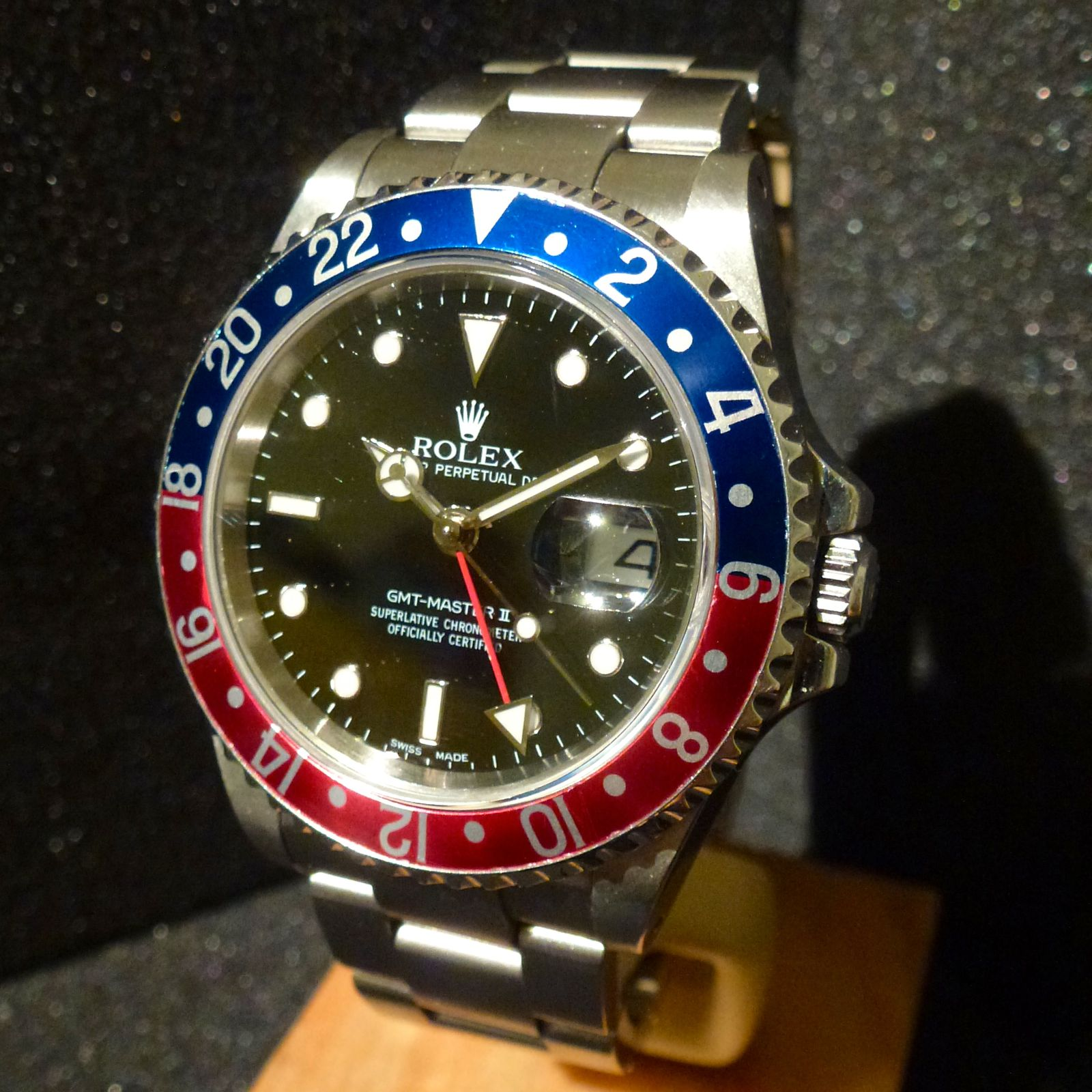 how to set a gmt master for utc