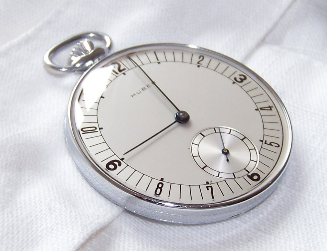 Moderne taschenuhr  Huber Taschenuhr ist zurück - UhrForum