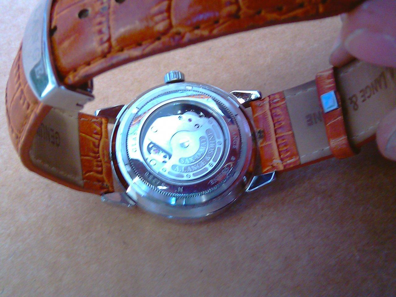 Uhrenbestimmung A Lange Amp S 246 Hne Glash 252 Tte Uhrforum