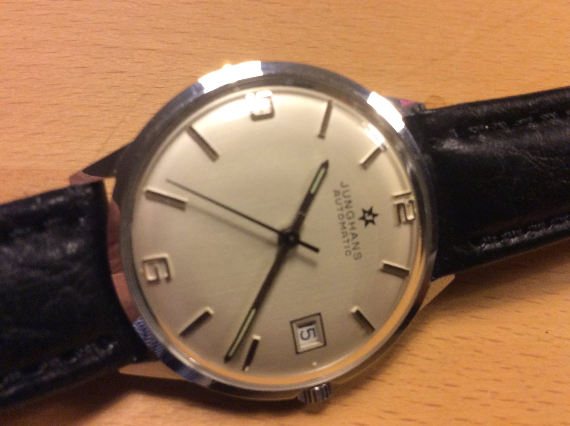 Etwas altes. Junghans Automatic J 651.10 aus den 70ern | UhrForum