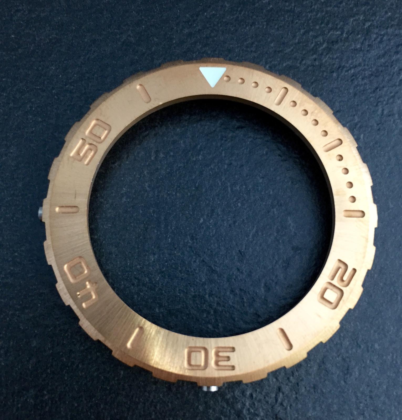 Erledigt] Bronze Lünette für KALMAR 1 H2O - UhrForum