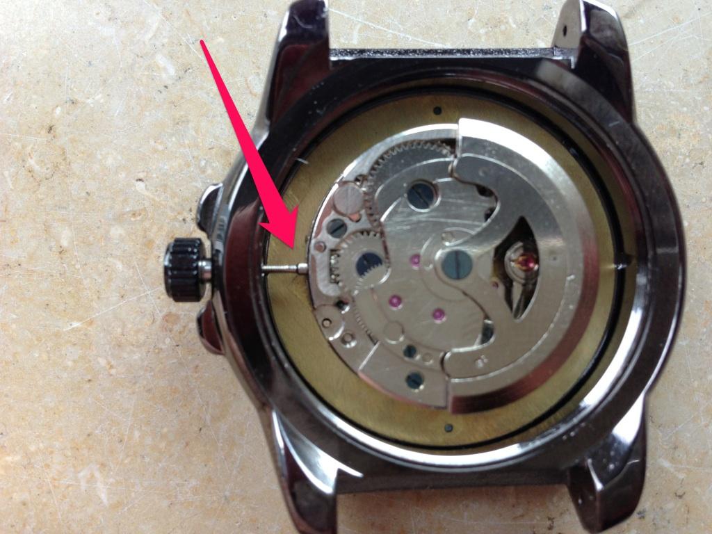 Uhr Zerlegen